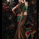 Indian / Pakistani Designer Wedding Bridal Light Work Saree Sari - X 1317