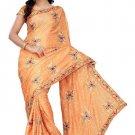 Indian Bollywood Designer Embroidered Saree Sari - Tu122B