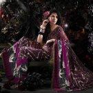 Indian / Pakistani Designer Wedding Bridal Light Work Saree Sari - X 1330