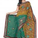 Indian Bollywood Designer Embroidered Saree Sari - Tu115