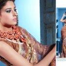 Indian Bollywood Designer Embroidered Bridal Wedding Saree Sari - X 817
