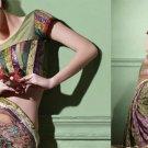 Indian Bollywood Designer Embroidered Bridal Wedding Saree Sari - X 819