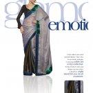Sari Saree Viscose Wedding Fancy Embroidered With Unstitch Blouse - RTN 25 N