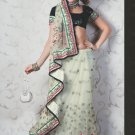 Bridal Net Exclusive Designer Embroidery Sari With Blouse - X 912 N