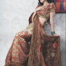 Bridal Net Exclusive Designer Embroidery Sari With Blouse - X 931 N