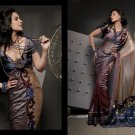 Sari Saree Casual Viscose Bridal Embroidery With Unstitch Blouse - RTN 287 N