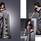 Sari Saree Casual Viscose Bridal Embroidery With Unstitch Blouse - RTN 288 N