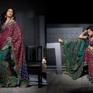Sari Saree Casual Viscose Bridal Embroidery With Unstitch Blouse - RTN 282 N