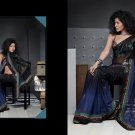 Sari Saree Casual Viscose Bridal Embroidery With Unstitch Blouse - RTN 286 N