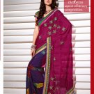 Sari & Sarees Viscose Fancy Embroidered Sarees With Unstitched Blouse - RTN 50 N