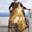 Bollywood Indian Saree Designer Bridal Wedding Sari Partywear - X 4015B