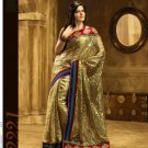 Bollywood Designer Partywear Bridal Wedding Embroidered Sarees Sari - RS 2221