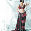 Bollywood Indian Designer Embroidered  Partwear Sarees Sari - HF 1005B