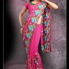 Bollywood Designer Indian Embroidered Wedding Bridal Saree Sari - CH 1019