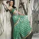 Bollywood Indian Saree Designer Bridal Wedding Sari Partywear - X 4012A