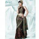 Bollywood Indian Designer Embroidered  Partwear Sarees Sari - HF 1007B