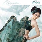 Bollywood Indian Designer Embroidered  Partwear Sarees Sari - HF 1013 B