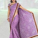 Indian Faux Georgette Wedding Embroidered Saris Sarees With Blouse - HZ 1007a N
