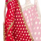 Indian Faux Georgette Wedding Embroidered Saris Sarees With Blouse - HZ 171a N