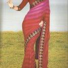 Indian Bollywood Printed Designer Partywear Casual Saree Sari - X 243