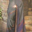 Indian Bollywood Printed Designer Partywear Casual Saree Sari - X 237a