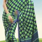 Indian Designer Wedding  Bollywood  Sari Printed Saree  - X 770a
