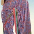 Indian Designer Wedding  Bollywood  Sari Printed Saree  - X 771a