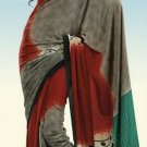 Indian Designer Wedding  Bollywood  Sari Printed Saree  - X 768a