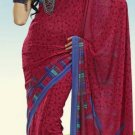 Indian Designer Wedding  Bollywood  Sari Printed Saree  - X 764a