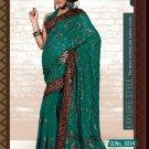 Indian Bollywood Designer Embroidery Saree Sari - RC1014