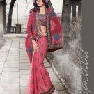 Indian Bollywood Designer Embroidery Saree Sari - 802