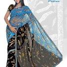 Indian Bollywood Designer Embroidered Saree Sari - X prerna