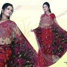 Indian Bollywood Designer Embroidered Saree Sari - X kamalika