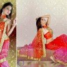 Indian Bollywood Designer Bridal Embroidered Sarees Sari - HZ968