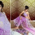 Indian Bollywood Designer Bridal Embroidered Sarees Sari - HZ966