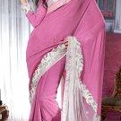 Sari & Sarees Viscose Designer Embroidered Sarees With Unstitch Blouse- RTN 88 N