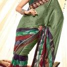 Jacquard Wedding Designer Embroidery Saree Sari With Unstitch Blouse - RTN 74 N