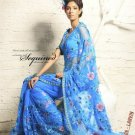 Saree Sari Indian Bollywood Designer Embroidered Fancy - X 506