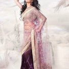Net Wedding Heavy Embroidered Sarees Sari With Blouse - X 2430