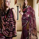 Saree Sari Indian Bollywood Designer Embroidered Fancy - X 437