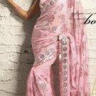 Saree Sari Indian Bollywood Designer Embroidered Fancy - X 512