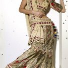 Saree Sari Indian Bollywood Designer Embroidered Fancy - X 303