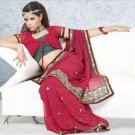 Party Wear Indian Look Sari Royal Look Traditional Sari Saree - X 421B