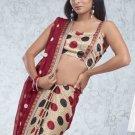 Party Wear Indian Look Sari Royal Look Traditional Sari Saree - X 406B