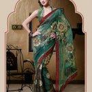 Saree Sari Indian Bollywood Designer Embroidered Fancy - X 405