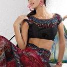 Indian Womens Clothing Saree Printed Saree Sari - X5621A