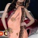 Indian Womens Clothing Saree Embroidered Saree Sari - X15017A
