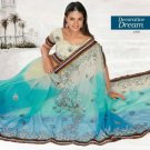 Indian Saree Bollywood Designer Bridal Wedding Sari Embroidery  - X 1276