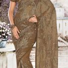 Indian Saree Bollywood Designer Bridal Wedding Sari Embroidery  - X 1262