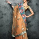 Indian Bollywood Designer Embroiderey Wedding Bridal Saree Sari - CH 1108